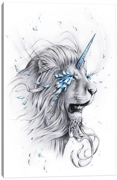 Lion Soul Canvas Art Print