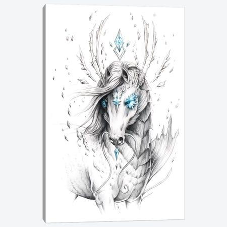 Sea Horse Canvas Print #JOJ44} by JoJoesArt Canvas Art Print