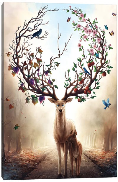 Seasons Canvas Art Print