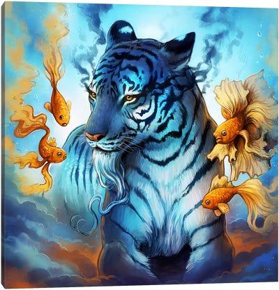 Tiger Fish Canvas Art Print