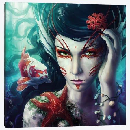 Deep Sea Canvas Print #JOJ6} by JoJoesArt Canvas Print