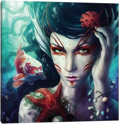 Deep Sea Canvas Art Print