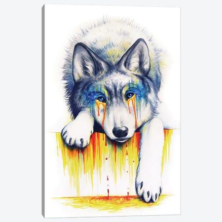 Drowning In Tears Canvas Print #JOJ8} by JoJoesArt Canvas Wall Art