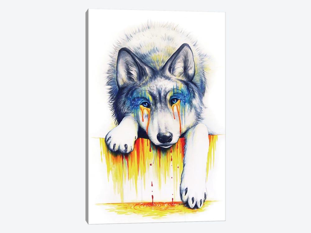 Drowning In Tears by JoJoesArt 1-piece Canvas Wall Art