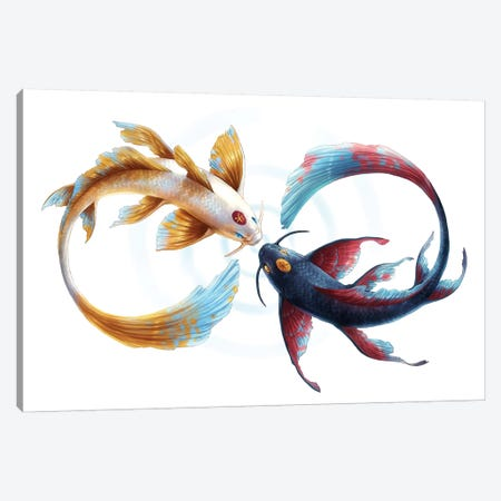 Eternal Bond Canvas Print #JOJ9} by JoJoesArt Canvas Artwork