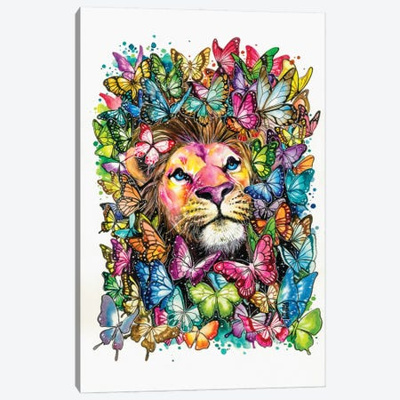 Paradise Canvas Print #JOK12} by Jongkie Canvas Wall Art