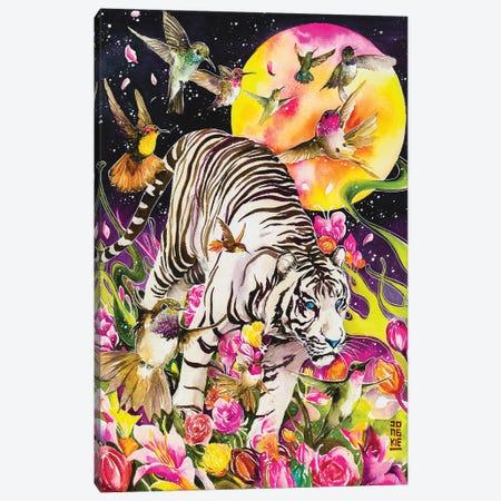 White Soul Canvas Print #JOK13} by Jongkie Canvas Art