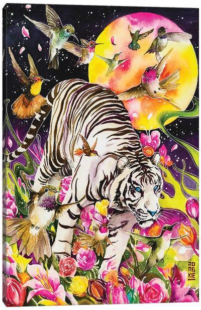 White Soul Canvas Art Print
