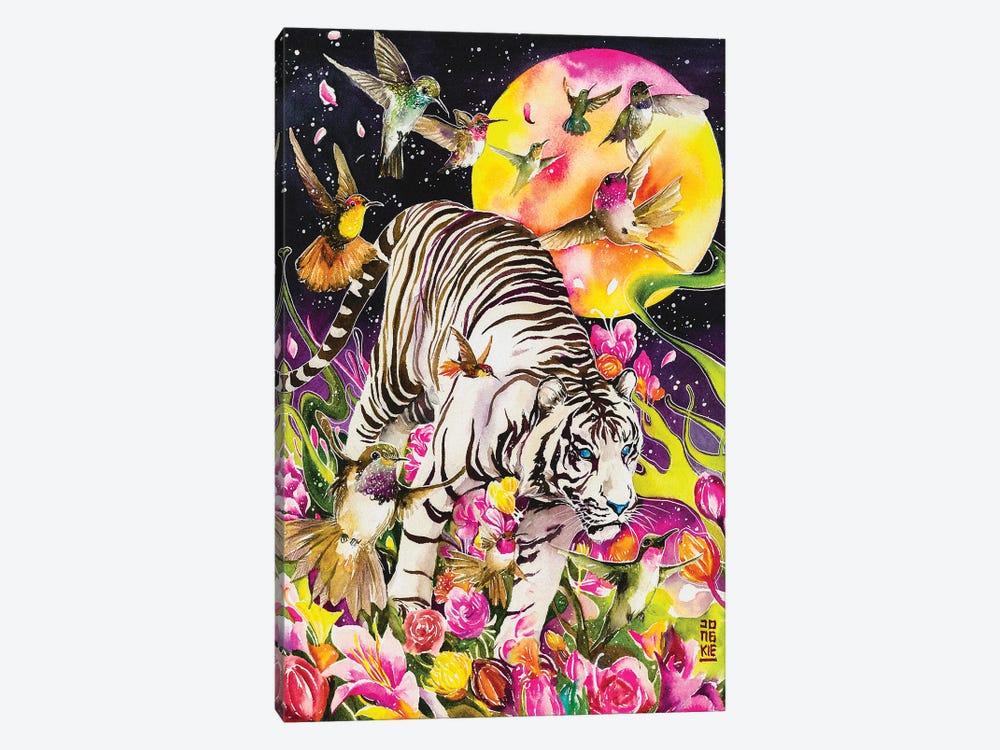 White Soul by Jongkie 1-piece Art Print