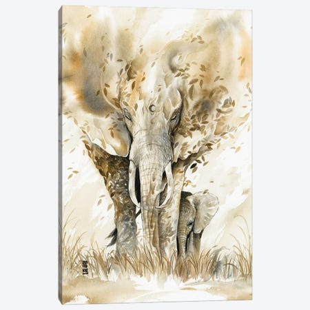 Guardian Spirit Canvas Print #JOK14} by Jongkie Canvas Art Print