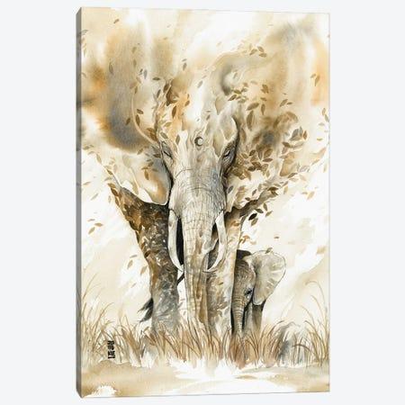Guardian Spirit Canvas Print #JOK14} by Jongkie Canvas Art Print