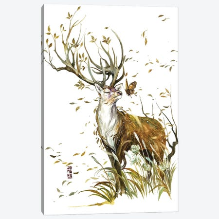 The Wind of Life Canvas Print #JOK16} by Jongkie Canvas Art Print