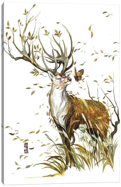 The Wind of Life Canvas Art Print