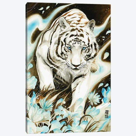 White Spirit Canvas Print #JOK17} by Jongkie Canvas Art Print