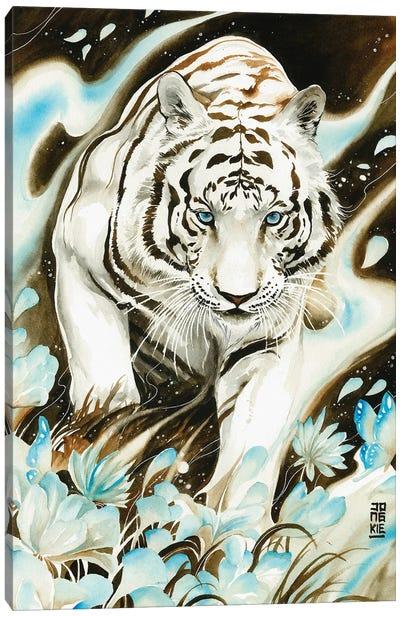 White Spirit Canvas Art Print