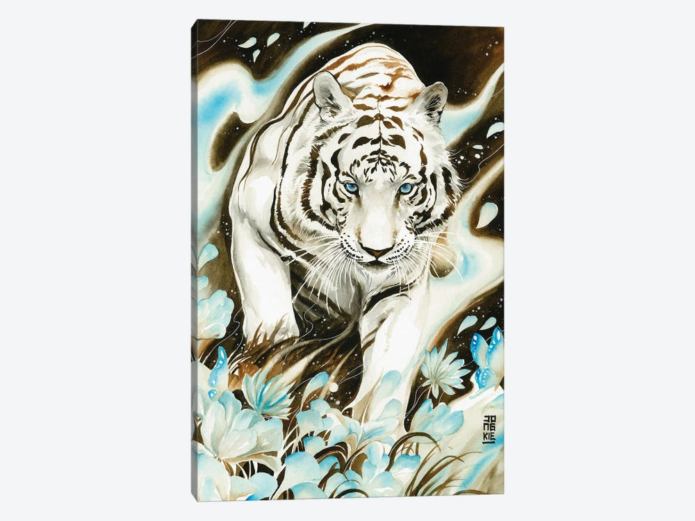 White Spirit by Jongkie 1-piece Art Print