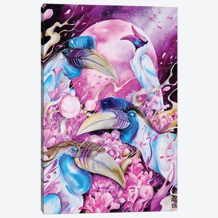 New Moon Canvas Print #JOK22} by Jongkie Canvas Art Print