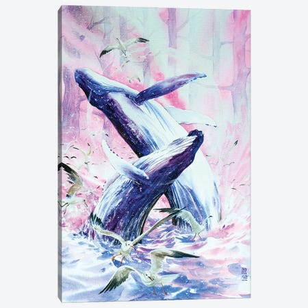 Leviathan Canvas Print #JOK26} by Jongkie Canvas Artwork