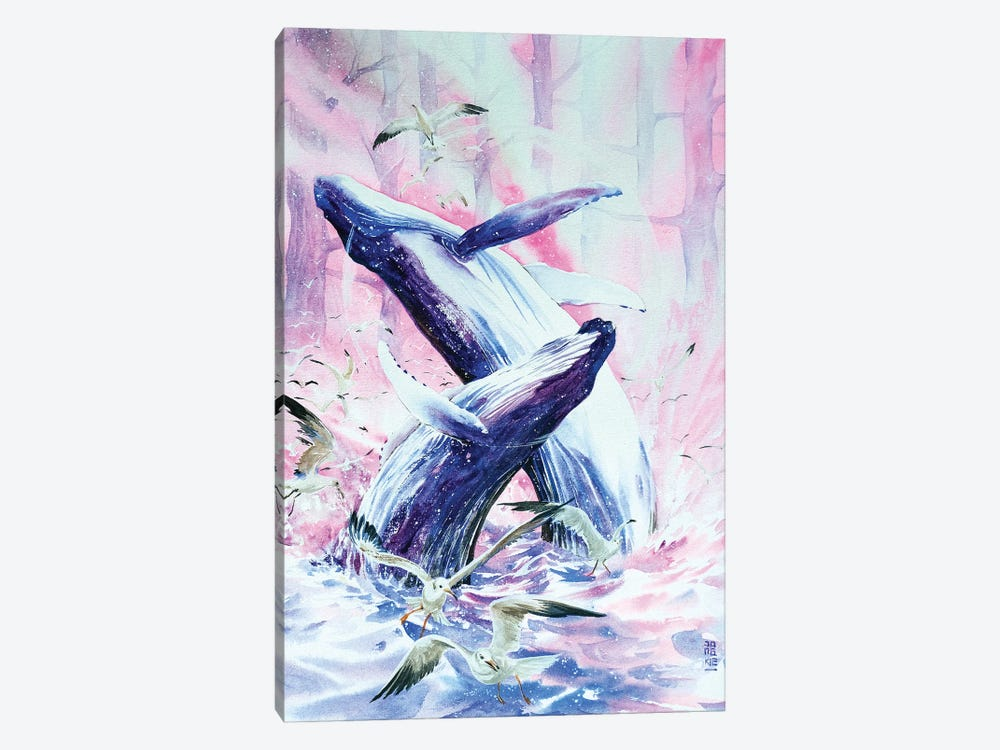 Leviathan by Jongkie 1-piece Canvas Print