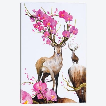 The Poem of Life Canvas Print #JOK27} by Jongkie Canvas Art