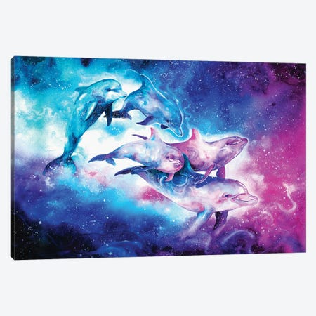 The Land of Stars Canvas Print #JOK30} by Jongkie Canvas Art