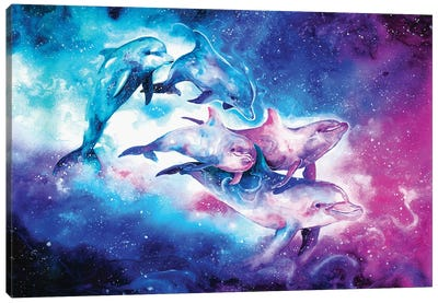 The Land of Stars Canvas Art Print