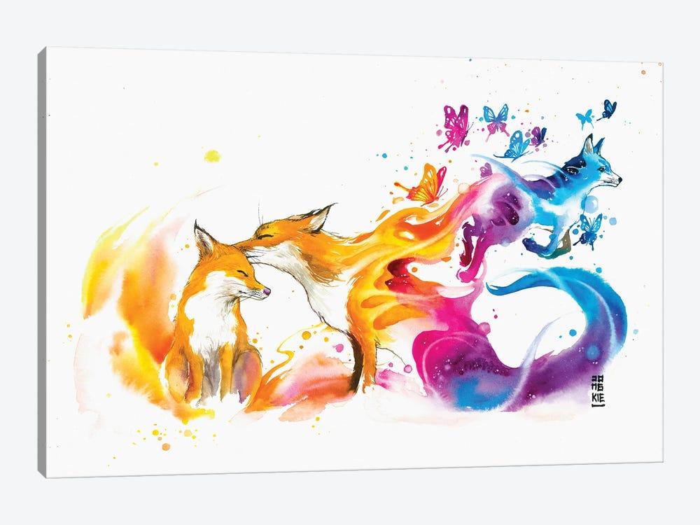 The Last Kiss by Jongkie 1-piece Canvas Art Print