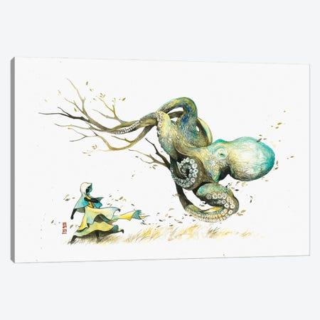 The Wanderer Canvas Print #JOK32} by Jongkie Canvas Wall Art