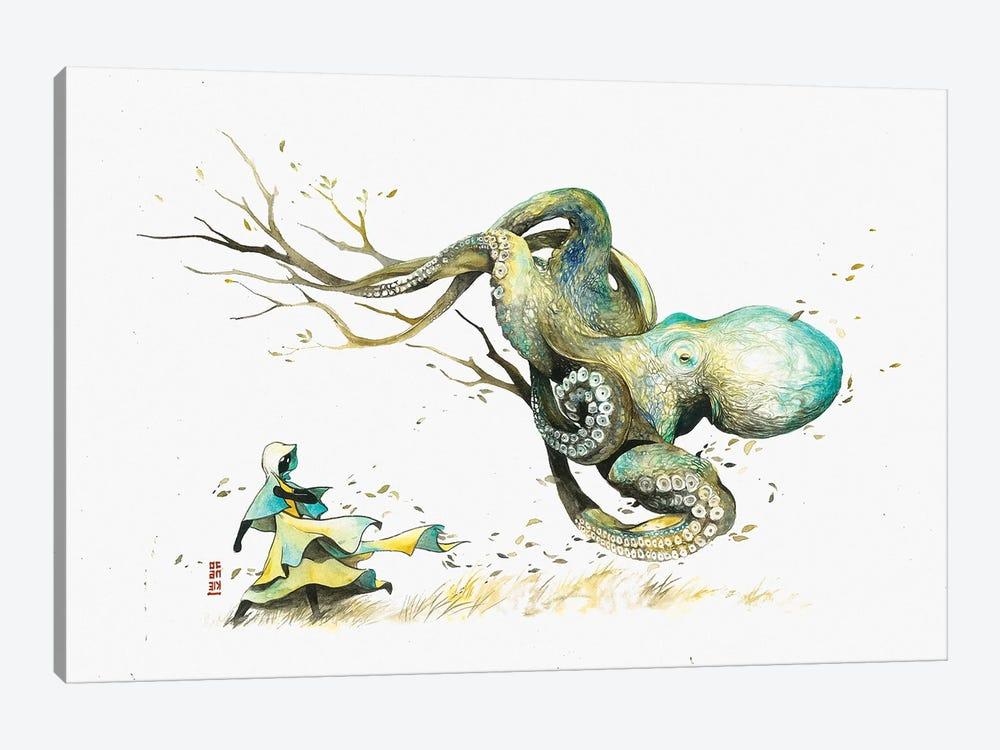 The Wanderer by Jongkie 1-piece Canvas Art