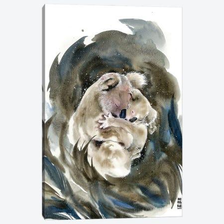 Mother Canvas Print #JOK35} by Jongkie Canvas Art Print
