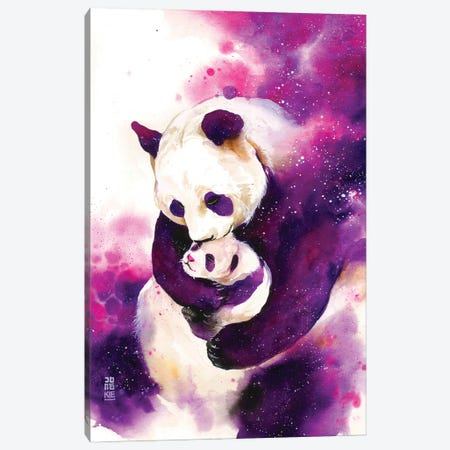Mother's Love Canvas Print #JOK36} by Jongkie Canvas Print