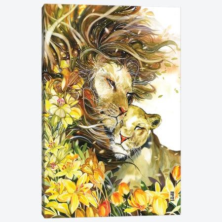 Spring Waltz Canvas Print #JOK38} by Jongkie Canvas Art