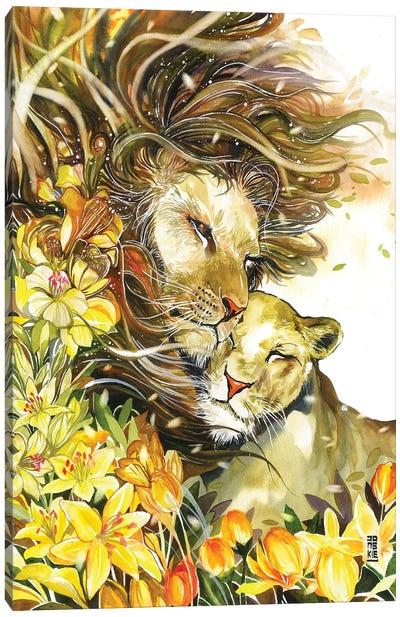 Spring Waltz Canvas Art Print