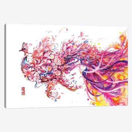 Fleur De La Cour Canvas Print #JOK39} by Jongkie Canvas Artwork