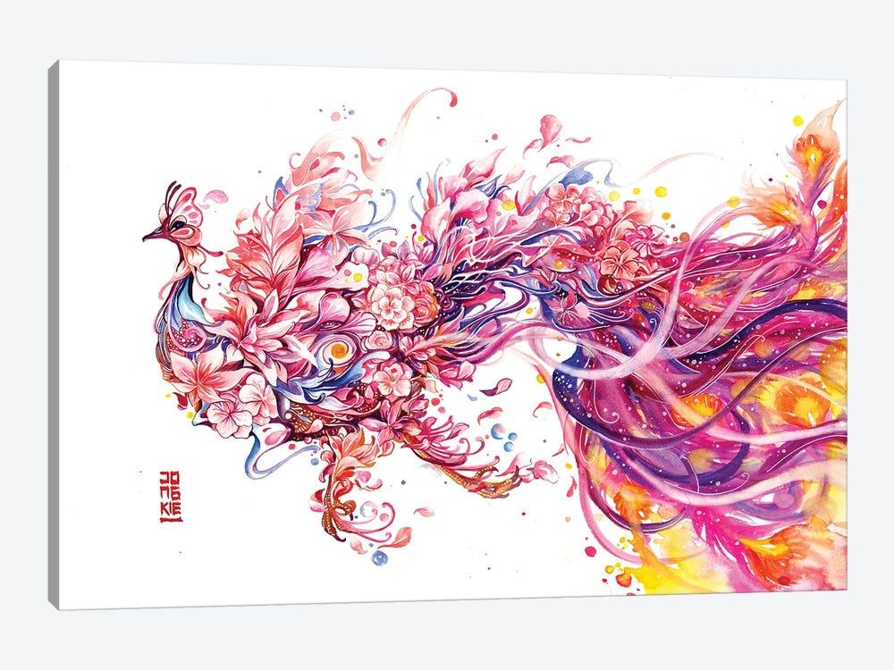 Fleur De La Cour by Jongkie 1-piece Canvas Art Print