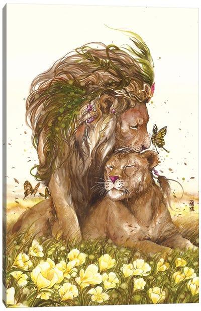 The King 2 Hearts Canvas Art Print