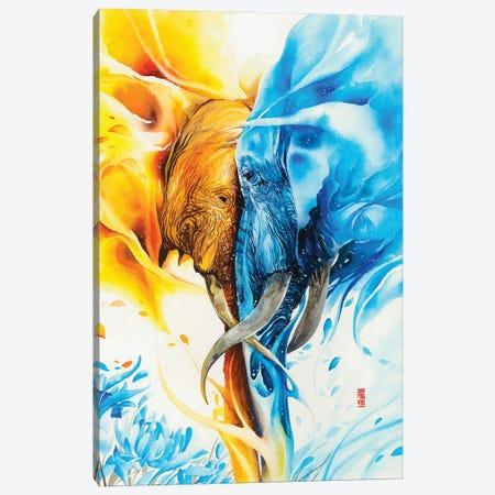 Wild Flower Canvas Print #JOK9} by Jongkie Art Print