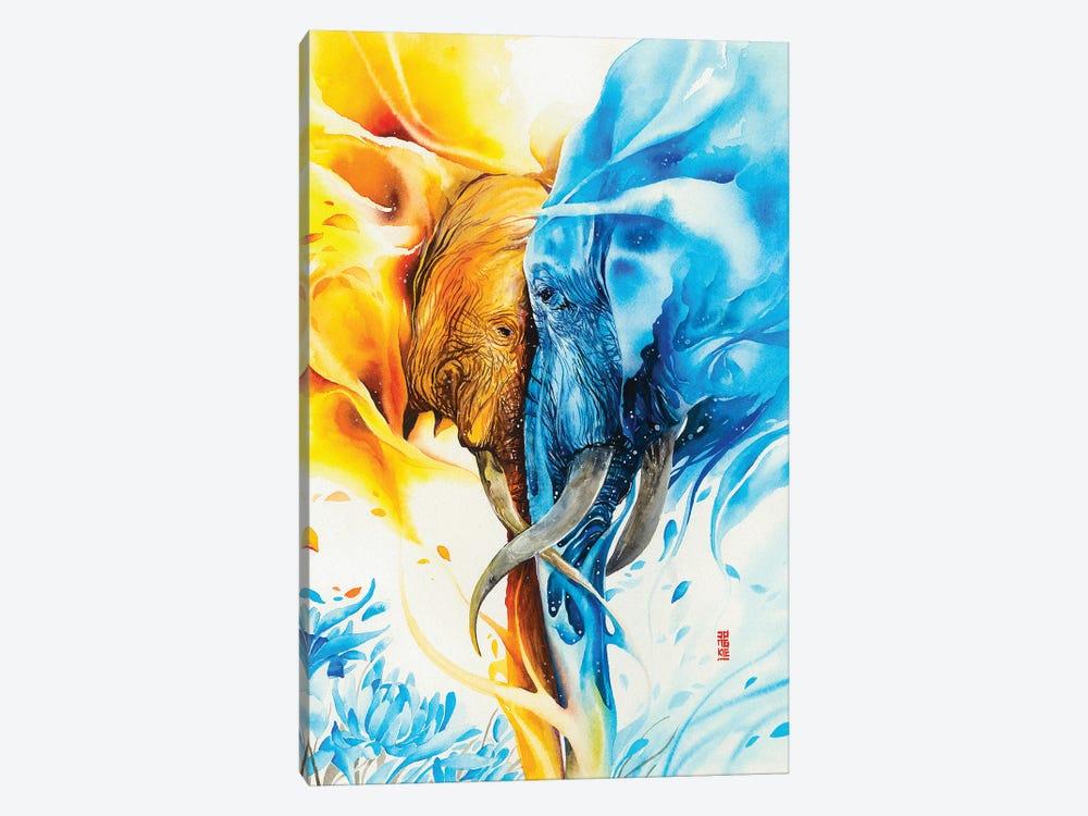 Wild Flower by Jongkie 1-piece Canvas Artwork
