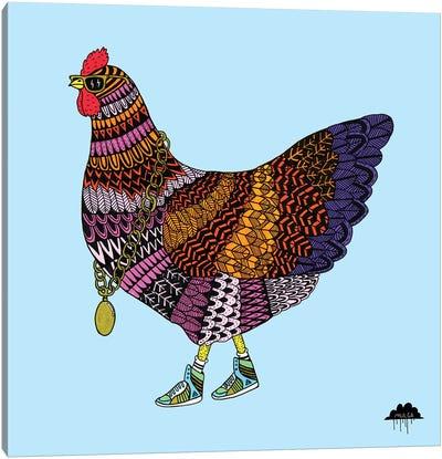 Cherry The Chicken Canvas Art Print
