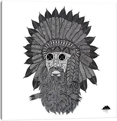 Chief Great Beard Canvas Art Print
