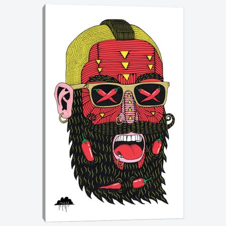 Chilli Charles Lagre Canvas Print #JOL13} by MULGA Art Print