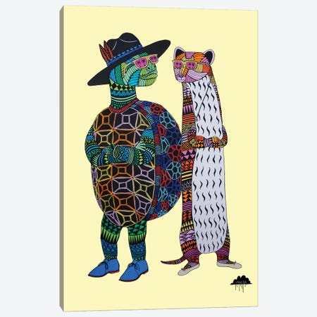 Dana And Tom Canvas Print #JOL14} by MULGA Canvas Artwork