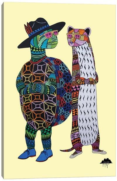 Dana And Tom Canvas Art Print