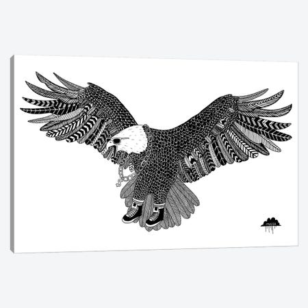 Eggbert The Most Excellent Eagle Canvas Print #JOL19} by MULGA Canvas Print