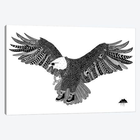 Eggbert The Most Excellent Eagle Canvas Print #JOL19} by MULGA Canvas Print