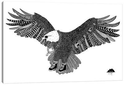 Eggbert The Most Excellent Eagle Canvas Art Print