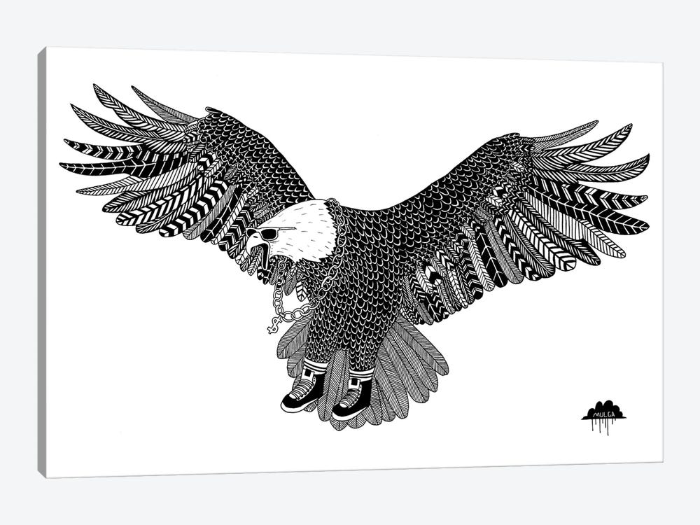 Eggbert The Most Excellent Eagle by MULGA 1-piece Canvas Art