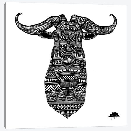 Anton The Aztec Goat Canvas Print #JOL1} by MULGA Canvas Artwork
