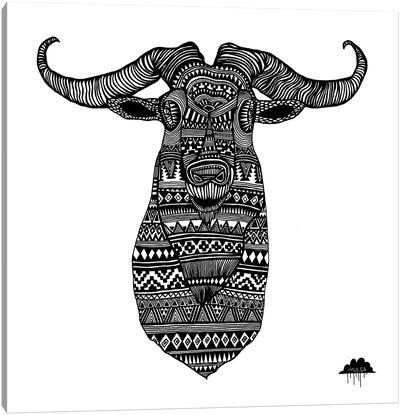 Anton The Aztec Goat Canvas Art Print