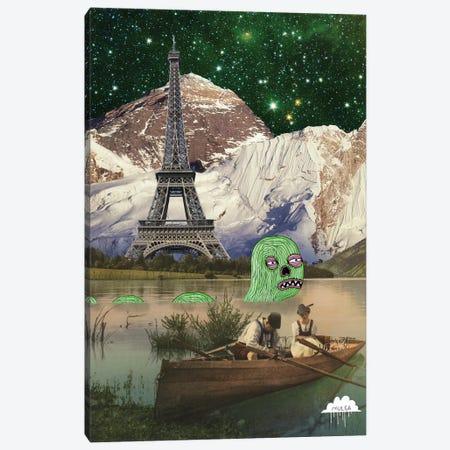 Eiffel Tower Canvas Print #JOL20} by MULGA Canvas Art
